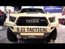 2017 Toyota Tacoma customized by 5.11 - Walkaround - Cooper Tires Stand at 2017 SEMA