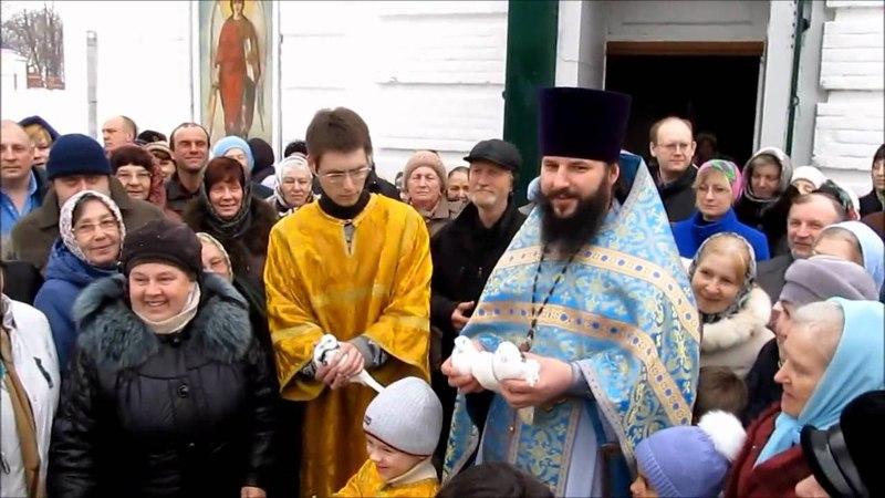 Благовещение и Вербное Воскресение 2012 год