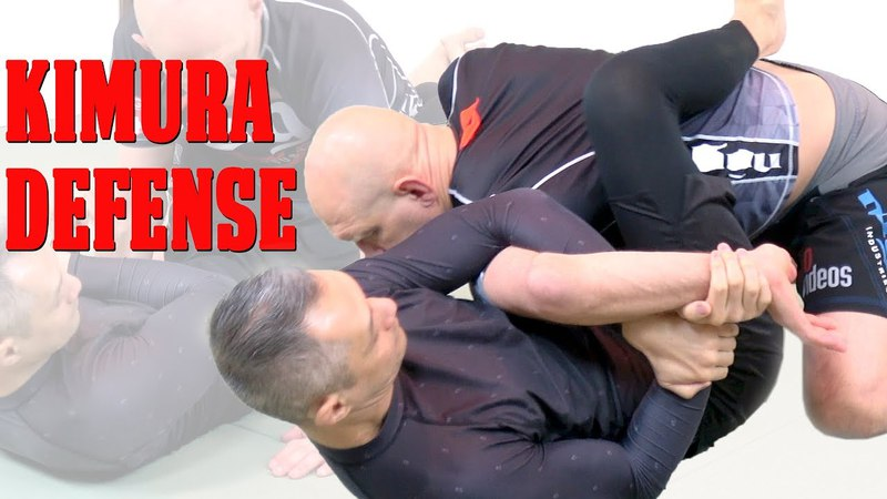 A Simple Tweak to Shut Down and Defend the Kimura Armlock from Guard
