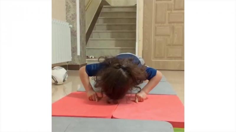 SLs 4 Years Old Kid THEN VS NOW Arat Gym (AMAZING GYMNASTICS)
