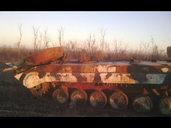 Село Лисичье - сожженная силами ВСУ колона российских войск