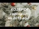 КОЗЕРОГ - Ведический ГОРОСКОП на 2018 г.