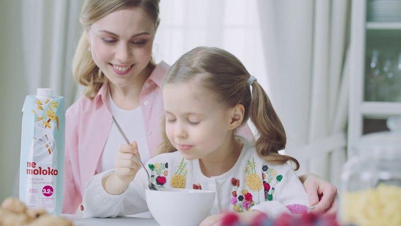 Мария Ковалева представляет новую линейку продуктов на растительной основе в видеорекламе для торговой марки Nemoloko