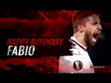 Goals and assists, grit and determination - Happy birthday once again Fabio!