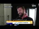 Ricky Martin interview for The Insider 16.02.18