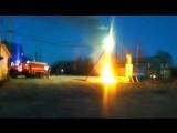Пожар Тарко-Сале ул Авиаторов 121017