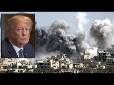 Trump bombardiert Syrien und seine Glaubwürdigkeit