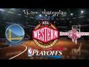 Golden State Warriors vs Houston Rockets 16.05.2018 West Final Game 2 NBA Playoffs 2018 Виасат Viasat Sport HD RU