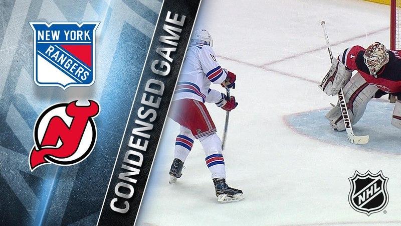 04/03/18 Condensed Game: Rangers @ Devils
