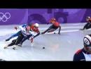 Есть первая медаль! Семен Елистратов занял третье место в шорт-треке.Олимпиада-2018