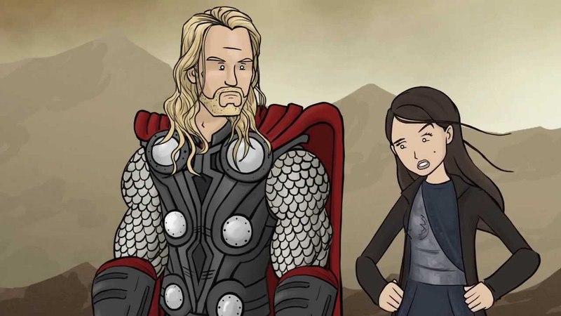 Как следовало закончить фильм Тор 2: Царство тьмы (русская озвучка)
