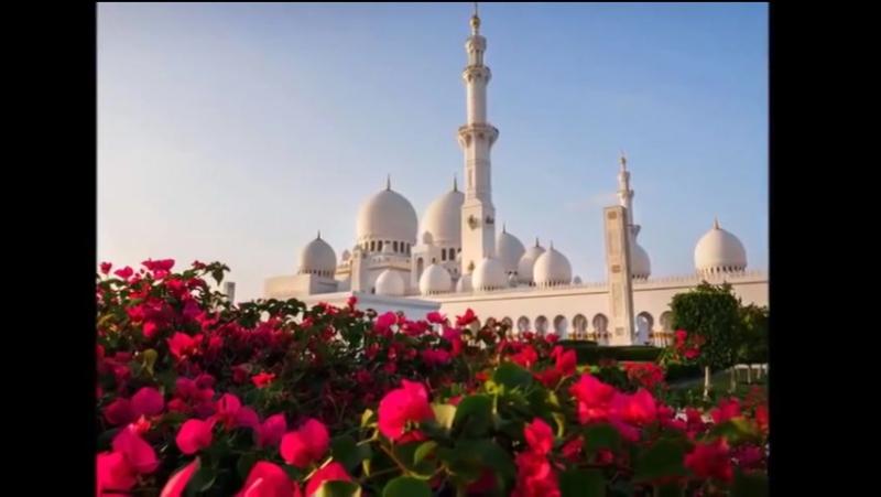 Азан и мечети Мира