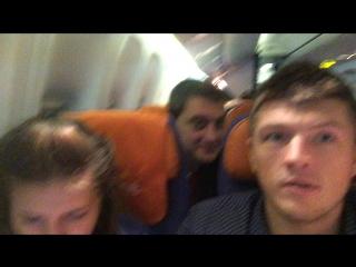 Внутри самолета. Летим аэрофлотом на Пхукет