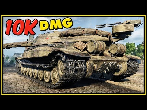 Object 705A - 10K Damage - World of Tanks Gameplay