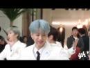 The UNIT - Top 9 B G - Mini Live - Jun Focus (Time Square Yongdeungpo / 11.02.18)