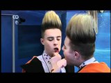 Jedward give each other oral - Celebrity Big Brother Day 21