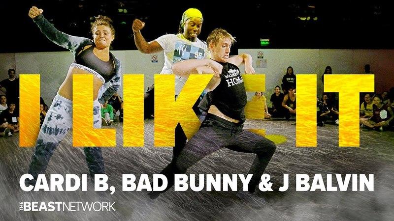 I Like It - Cardi B, Bad Bunny, J Balvin   Choreography by Willdabeast 2018