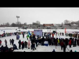 вятские поляны. награждение призеров. личное первенство россии.