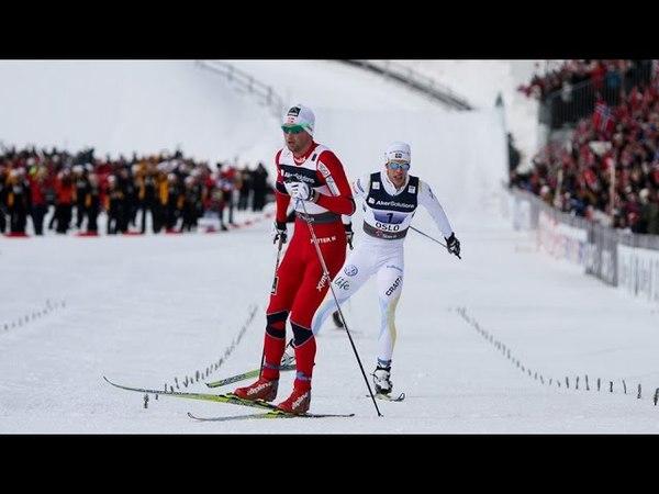 Norway vs Sweden Finland Mens 4x10km Relay at World Championship 2011 Oslo (Holmenkollen)