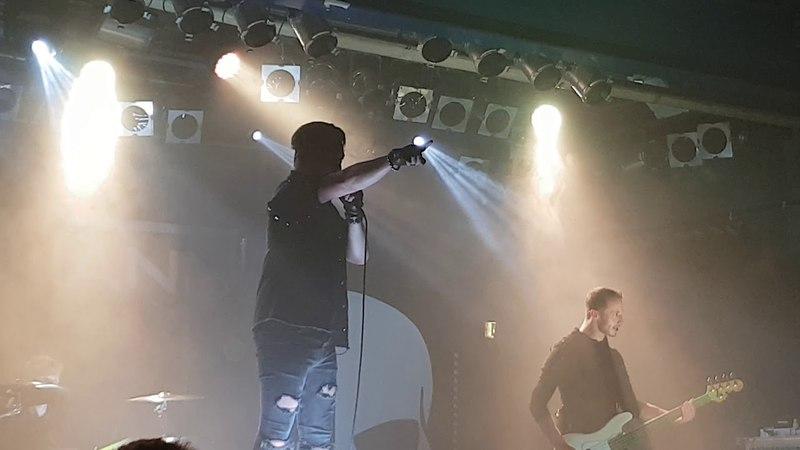 Schattenmann - Licht an. Live München 14.04.18