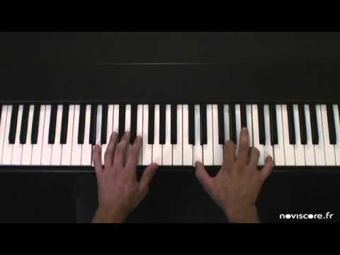 La comptine Frère Jacques au piano par Noviscore