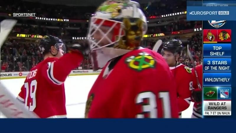 NHL On The Fly. Обзор матчей за 21 февраля [Eurosport Gold, RU]