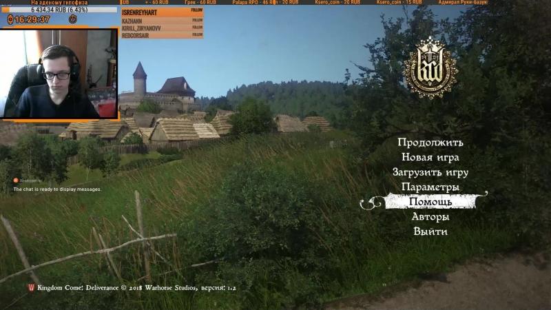 KCD: Средневековый бездельник в Kingdom Come: Deliverance [1080p 60fps]