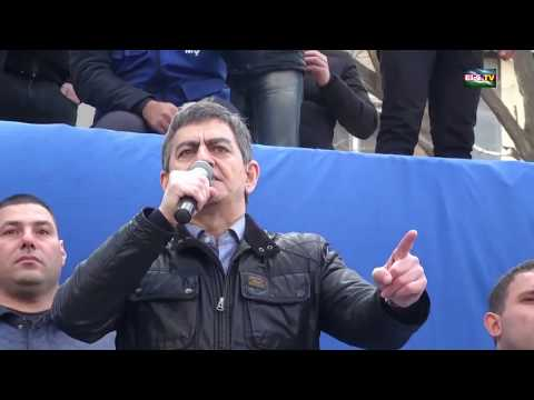 31 mart Mitinqi: AXCP sədri Əli Kərimlinin çıxışı (tam olaraq)