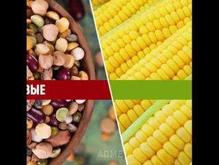 8 сочетаний продуктов, которые помогут похудеть