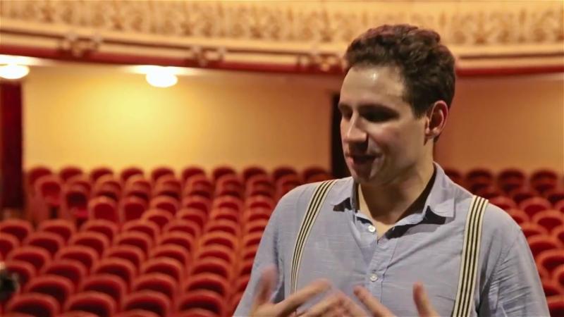 Интервью Якова Ломкина на фестивале Свидания на Театральной 2017