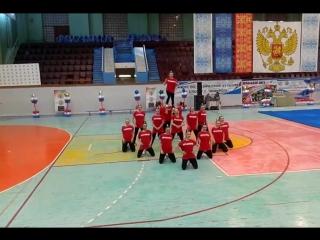 Чемпионат Таганрога и РО 2018 - Гранд ДГТУ - чир хип хоп группа