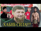 РЕАКЦИЯ РАМЗАНА КАДЫРОВА НА ПОБЕДУ ХАБИБА  НУРМАГОМЕДОВА UFC223