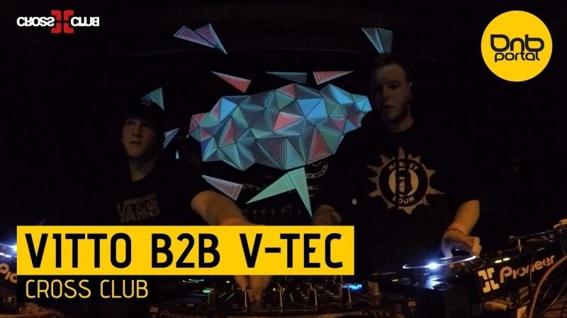 Vitto B2B V-Tec - Live Cross Club 23.03.2018 (www.dabstep.ru)