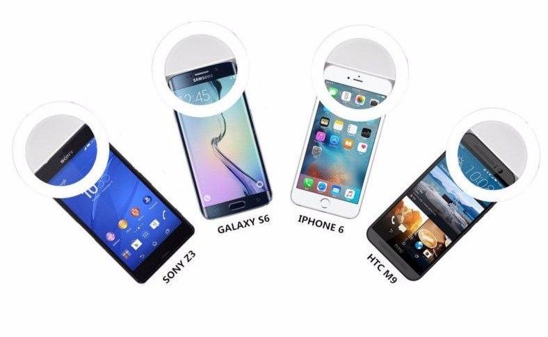 Мощная подсветка для смартфона
