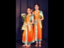 Концерт индийского танца студии Анугама дебют моих девочек в стили кучипуди