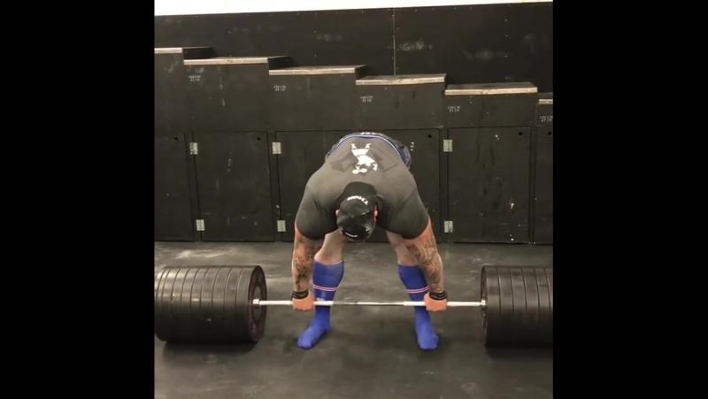 Хафтор Бьёрнссон. 440 кг