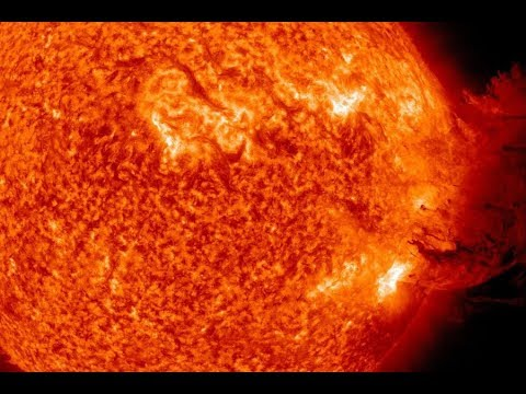 The Sun Unleashed: Monster Filament in Ultraviolet