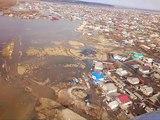 Андрей Бочаров совершает облет подтопленных районов Волгоградской области