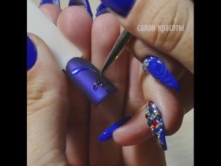 Дизайн ногтей - северное сияние! ✨