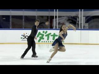 Елизавета Худайбердиева / Никита Назаров RUS Ice Dance Short Dance - GDANSK 201