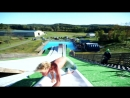 Slip and Slide LAUNCH RAMP!