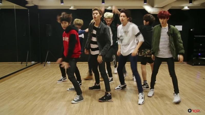 [Dance Practice] UP10TION (업텐션) _ 위험해 (SO, DANGEROUS) 연습실 ver.