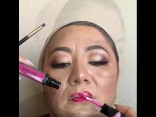 Первый макияж в ее жизни ❤️❤️❤️