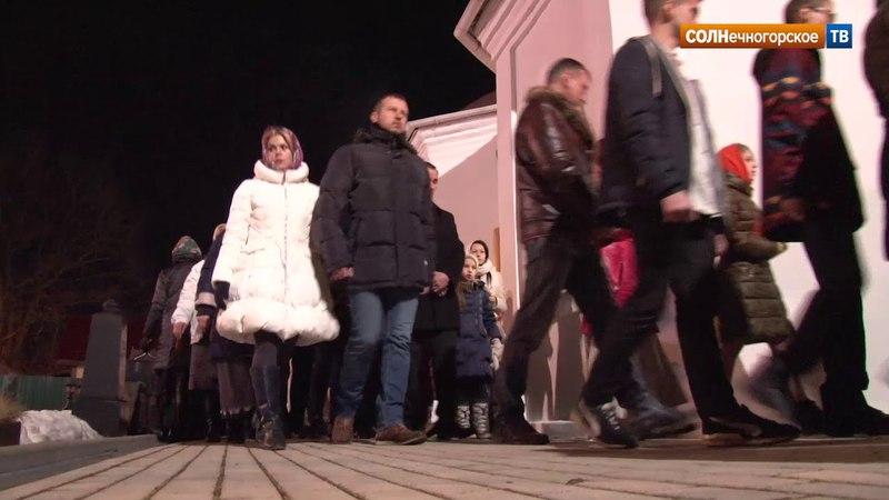 В храмах Солнечногорского района прошли пасхальные службы