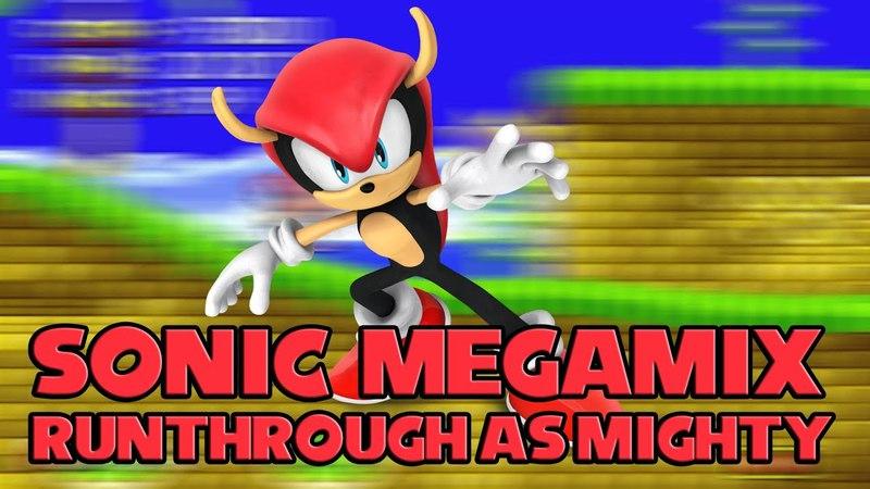 [TAS] Sonic Megamix 4.0: Runthrough as Mighty
