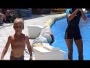 ТАНЕЦ с Дельфинами)) Валерка участвует в Dolphin Show, Aqualand, Tenerife