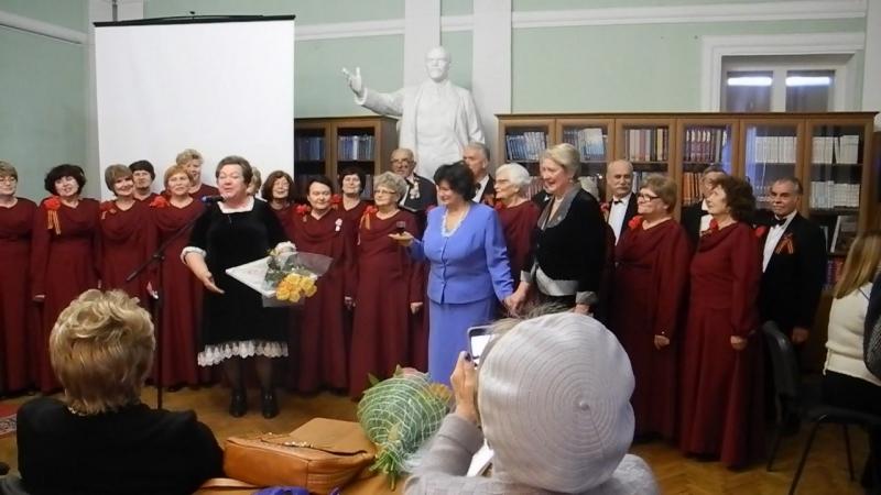 Поздравления на Юбилее композитора Т Великодворской