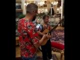 У меня в гостях супер гитарист и потрясающий композитор Дидюля!!!