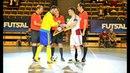 Zviedrija Latvija 8 6 pārbaudes spēle telpu futbolā