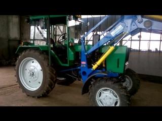 Обзор трактора МТЗ-82 после рецикла